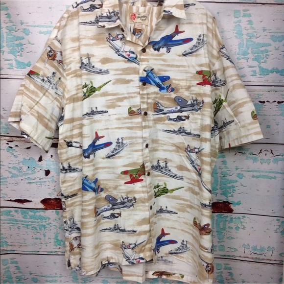 No tag Hattie Men/'s Hawaiian Shirt Pull Over Style sz XL 7 choices! NEW